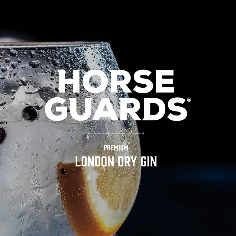 Horse Guards Social Media Gin and Tonic